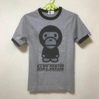 A BATHING APE - APE マイロ カレッジTシャツ