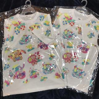 Disney - 【新品】ダッフィーTシャツ 2枚セット (MサイズとLサイズ)