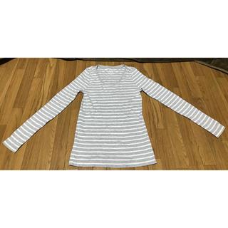ジーユー(GU)のレディース 長袖Tシャツ(Tシャツ(長袖/七分))
