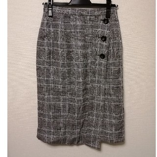 ビームス(BEAMS)のBEAMS タイトチェックスカート(ひざ丈スカート)