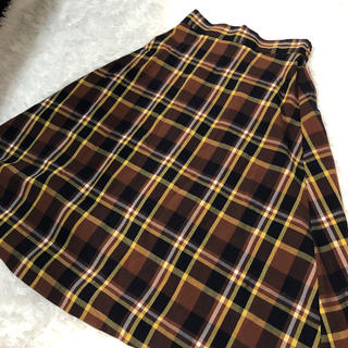 ジーユー(GU)のジーユー♡ミモレ丈スカート(ロングスカート)