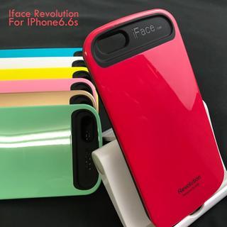iFace iPhone6/6S スマートフォンケース レッド