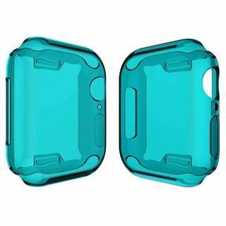 アップルウォッチ シリーズ 4 、5  保護 ケース 40mm/44mm 青(腕時計(デジタル))
