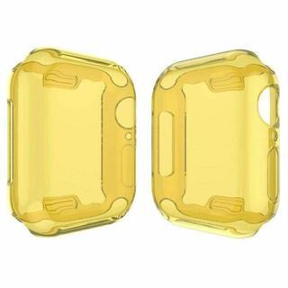 アップルウォッチ シリーズ 4 、5  保護 ケース 40mm/44mm 黄色(腕時計(デジタル))