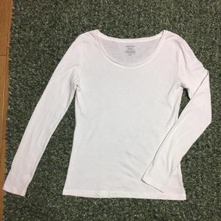 ジーユー(GU)のクルーネックT(Tシャツ(長袖/七分))