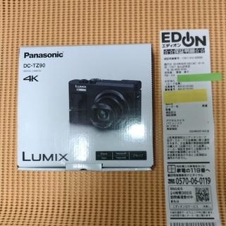 Panasonic - DC-TZ90 LUMIX Panasonicパナソニック ブラック黒black