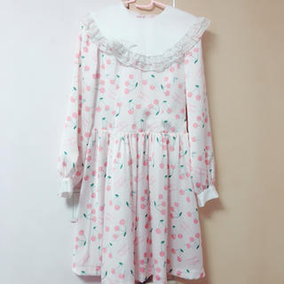 Angelic Pretty - ♡ RoseMarieseoir×シナモンコラボワンピース♡
