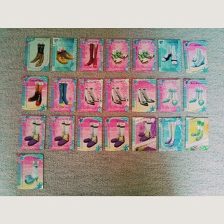 ラブベリ フットウェアカード(シングルカード)