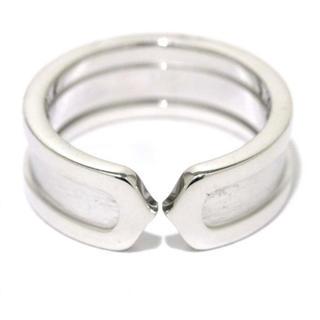 カルティエ(Cartier)のカルティエ★Cartier★2Cリング★指輪★750/K18WG★♯55/15号(リング(指輪))
