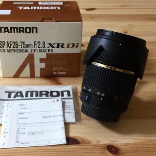 TAMRON - タムロン SP 28-75 F2.8 XRDiLD ASPH マクロ キャノン