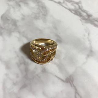 ゴールド モチーフ リング(リング(指輪))