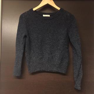 LOWRYS FARM - ローリーズファーム ニット セーター ウール ネイビー 紺色 セーター 長袖