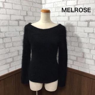 メルローズ(MELROSE)のMELROSE  モヘア ニット(ニット/セーター)