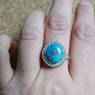 ペルシャ産   ターコイズ シルバーリング(リング(指輪))