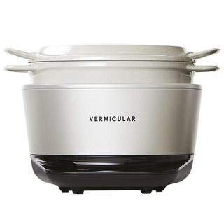 バーミキュラ(Vermicular)のVermicularバーミキュラライスポット5合炊きホワイトRP23A-WH(調理機器)