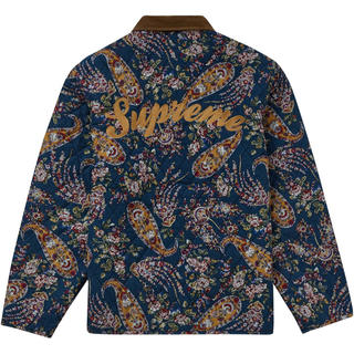 Supreme - Mサイズ Supreme Quilted Paisley Jacket