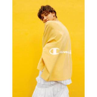 FRAY I.D - 完売品❤️ フレイアイディー バックプリントロングTシャツ チャンピオンコラボ