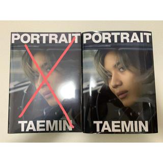 シャイニー(SHINee)のSHINee テミン 写真集 portrait(K-POP/アジア)