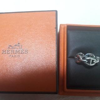 エルメス(Hermes)の大人気エルメス シェーヌダンクルリング(リング(指輪))