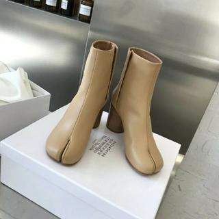 マルタンマルジェラ(Maison Martin Margiela)のメゾンマルジェラ ハイヒール ブーツ 足袋(ブーツ)