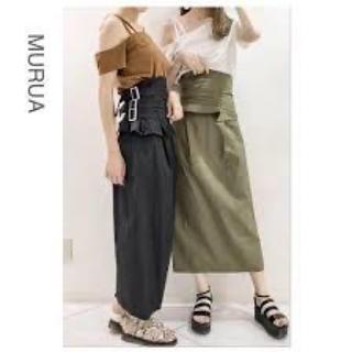 ムルーア(MURUA)のMURUA 2way コルセットスカート(ロングスカート)