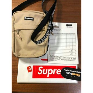 Supreme - Supreme 18SS Shoulder Bag Tan シュプリーム