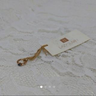 レイジースーザン(LAZY SUSAN)のレイジースーザン ベビーリング サファイア 9月誕生石 出産祝い 誕生日祝い(リング(指輪))