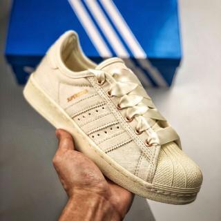 adidas - 新品 Adidas Superstar 80s シルクのズック