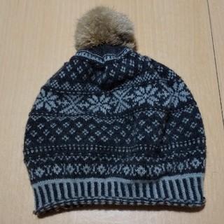 ニコアンド(niko and...)のニットベレー帽(ニット帽/ビーニー)