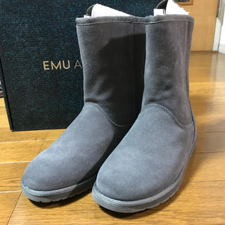 エミュー(EMU)の新品 emu spindle Lo スピンドル チャコール 6 ムートンブーツ(ブーツ)