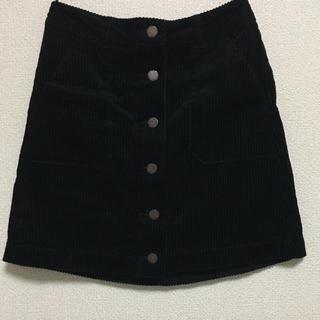 ジーユー(GU)のコーデュロイスカート(ミニスカート)