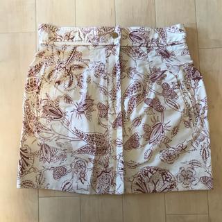 イザベルマラン(Isabel Marant)のイザベルマラン ミニスカート フラワー柄(ミニスカート)