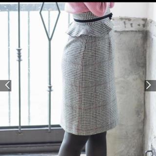 MISCH MASCH - ペプラムタイトスカート