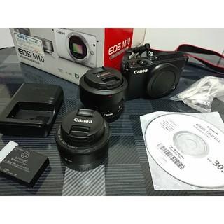 Canon - CANON EOS M10 ダブルレンズキット