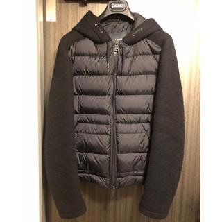 ヘルノ(HERNO)のHERNO ダウン&ウール ネイビージャケット size50(ダウンジャケット)