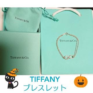 Tiffany & Co. - 美品 ティファニー インフィニティー ブレスレット シルバー
