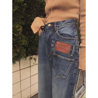 Ameri VINTAGE - OVERLAP FAKE DENIM