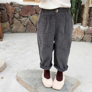 コーデュロイワイドパンツ 韓国子供服