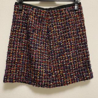 ビームス(BEAMS)のLAPIS LUCE BEAMS ツイードスカート(ひざ丈スカート)