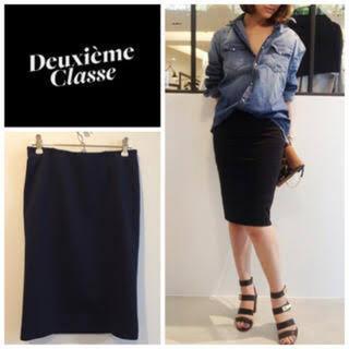 DEUXIEME CLASSE - ドゥーズィエムクラス♡コットンポンチタイトスカート