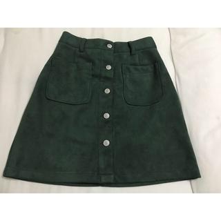 レトロガール(RETRO GIRL)のベロア風スカート(ミニスカート)