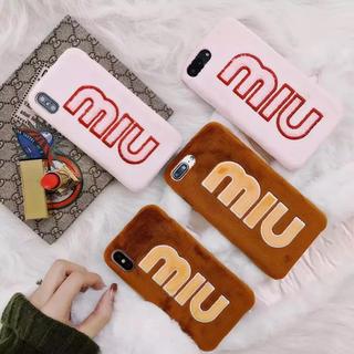 ミュウミュウ(miumiu)のmiumiu iPhone8 ケース カバー(iPhoneケース)