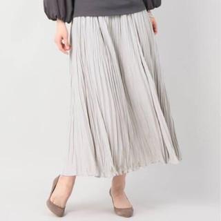 IENA - ベーセーストック ワッシャープリーツスカート