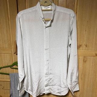 サンローラン(Saint Laurent)のサンローラン 水玉 長袖シャツ 36(シャツ/ブラウス(長袖/七分))