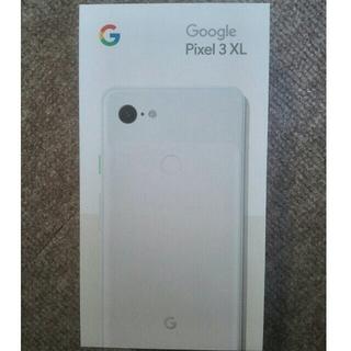 ANDROID - 【新品未使用/simフリー】Google pixel3 XL 128GB  ホワ