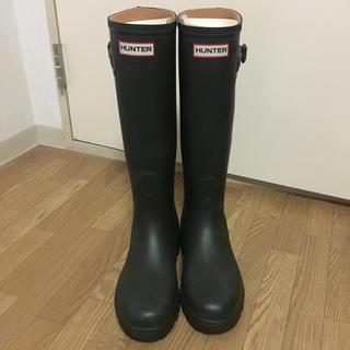 ハンター(HUNTER)のくまお様 専用 HUNTER ハンターレインブーツ グリーン(レインブーツ/長靴)