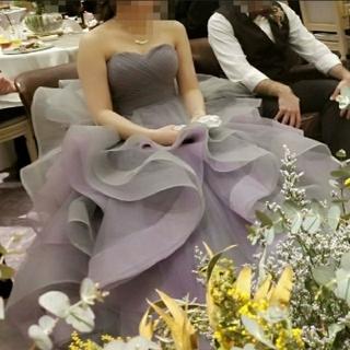 ■ヘアアクセ付■ ウエディングドレス カラードレス