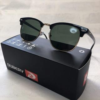 偏光サングラス UV400 ブラックグリーンスモーク(サングラス/メガネ)