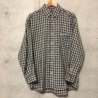 ステューシー(STUSSY)の90s USA製 OLD STUSSY 長袖 チェック シャツ M オールド(シャツ)