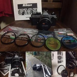 ニコン(Nikon)のフィルムカメラ Nikon FM2 フィルター5枚 セット (アナログ 一眼)(フィルムカメラ)